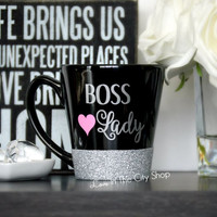 Boss Lady Coffee Mug / Best Boss Mug