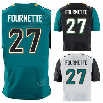 New Style 27 Leonard Fournette Jersey Men For Sport Fans 2017 Draft Pick Fournette Football Jerseys American Green White Black