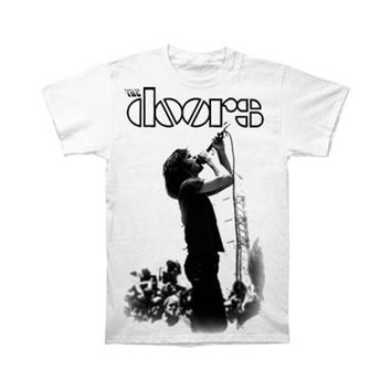 Doors Men's  Jim Jumbo T-shirt White