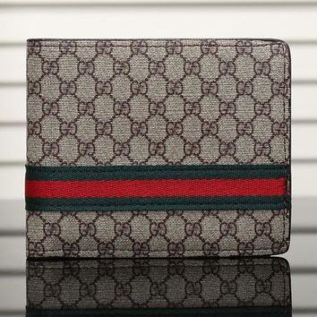 DCCK Gucci Man Leather Purse Wallet4