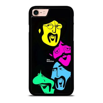 THE BEATLES DESIGN POSTER iPhone 8 Case