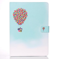 For ipad 6 ipad air 2 Case Luxury Colorful Wallet Flip Wallet Silicone Cute Leather Case For Apple Ipad 6 Stand Wallet free shipping=ipad002