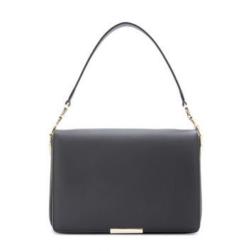 victoria beckham - v link leather shoulder bag