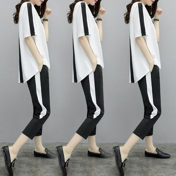 Top And Pants Leisure Tracksuit  Ensemble