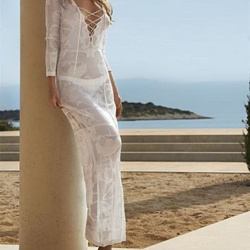 Long Maxi Dress Beach Cover up