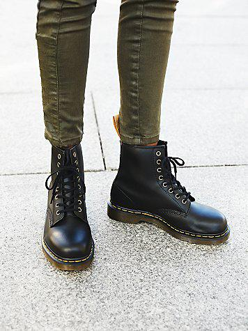 Dr. Martens Womens Vegan 1490 Ankle Boot from Free People f8876a73eb