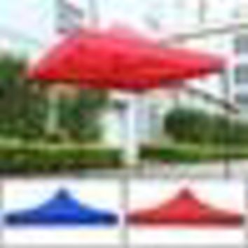 Waterproof Sunshade Pop Up Garden Tent Gazebo Canopy Outdoor Marquee Market Shade Party Beach Tent 2.9*2.9m