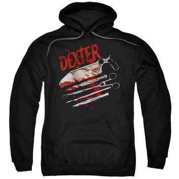 Dexter - Blood Never Lies 2 Adult Pull Over Hoodie