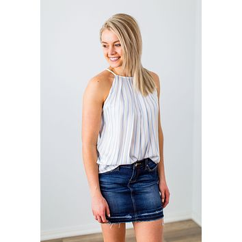 Westward Tank - Denim