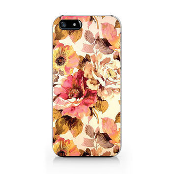 A-311- Autumn Floral iphone 6/iPhone 4/4S case, iPhone 5/5S/5C, Samsung S4/S5/note3