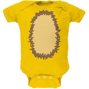 DCCKJY1 Halloween Lion Costume Soft Baby One Piece