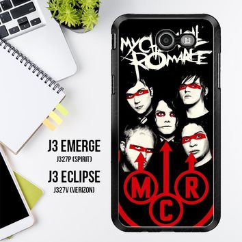 My Chemical Romance C0351 Samsung Galaxy J3 Emerge, J3 Eclipse , Amp Prime 2, Express Prime 2 2017 SM J327 Case