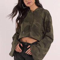 Show Off Cropped Hoodie