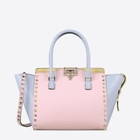 Valentino Online Boutique - Valentino Women Watercolor Rockstud Cross Body Bag