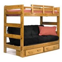 Savannah Twin over Futon Bunk Bed | www.hayneedle.com