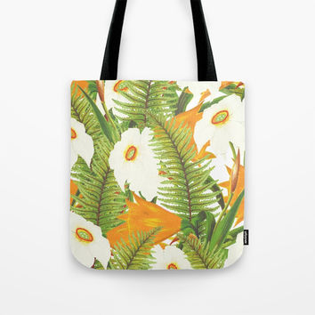 Summer Narcissus Tote Bag by cadinera