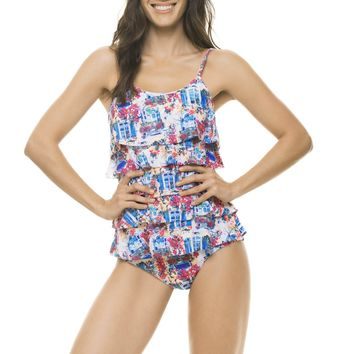 Bellaisola Ruffled One Piece
