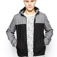 New Look Bomber Jacket in Color Block