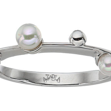 Majorica Pearls Placed on Sterling Silver Ring White - Zappos.com Free Shipping BOTH Ways