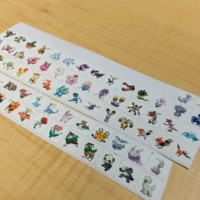 GENERATION 6 POKEMON PLANNER STICKER! PERFECT FOR YOUR ERIN CONDREN LIFE PLANNER,FILOFAX,PLUM PAPER & OTHER PLANNER OR SCARPBOOKING!