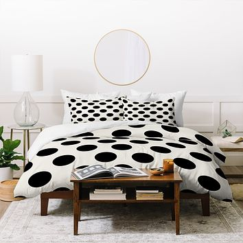 Allyson Johnson Classiest Cream Duvet Cover