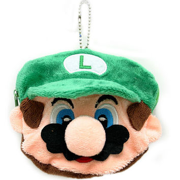 Luigi Face Coin Wallet