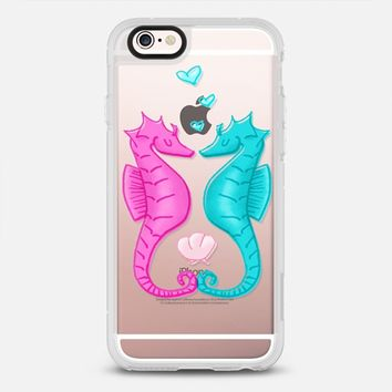 Seahorse Love iPhone 6s case by Lucy Jane Weigard | Casetify
