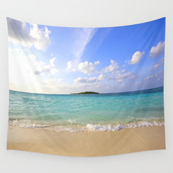 Tapestry| Wall Tapestry | Beach Tapestry| Water Tapestry| Nature Tapestry| Lightweight Tapestry| Indoor /Outdoor| Wall Hanging| Maldives