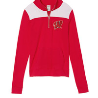University Of Wisconsin Perfect Quarter-Zip - PINK - Victoria's Secret