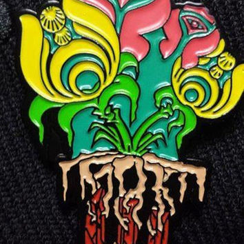 TomorrowWorld Horticulture 2014 Festival Hat Pin