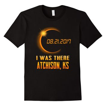 Beautiful Atchison Kansas Total Solar Eclipse 2017 Shirt