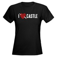 I Love Castle Tee on CafePress.com