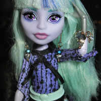 """Monster High and Ever After High doll jewelry earrings """"Luxury Shades"""" fashion doll Christmas gift New Year gift"""