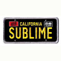 Sublime Men's Embroidered Patch Black