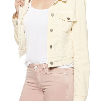 Yellow Vivienne Denim Jacket