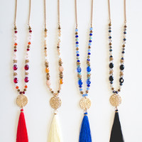 Now You See Me Tassel Necklaces