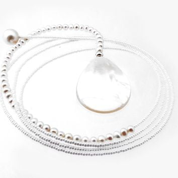 Pearl Diane Keaton Lariat Necklace Somethings Gotta Give Lasso Necklace