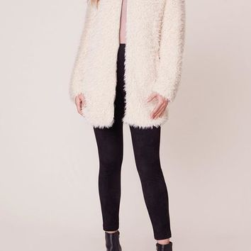 BB Dakota - Tan Soft Spot Long Sweater Jacket