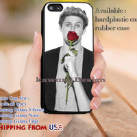 Red Rose Niall Horan iPhone 6s 6 6s+ 5c 5s Cases Samsung Galaxy s5 s6 Edge+ NOTE 5 4 3 #music #1d dl11