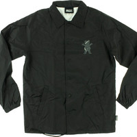 Grizzly Street Wars Coaches Jacket Large Black
