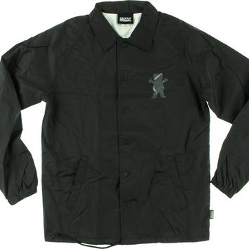 Grizzly Street Wars Coaches Jacket XLarge Black