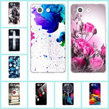Case for Sony Xperia Z3 Compact Mini D5803 D5833 Phone Case Ultra Thin Silicone Soft TPU Back Cover for Sony Xperia Z3 Mini Capa