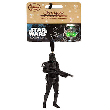 Disney Store Trooper Sketchbook Ornament Rogue One A Star Wars Story New w Tags