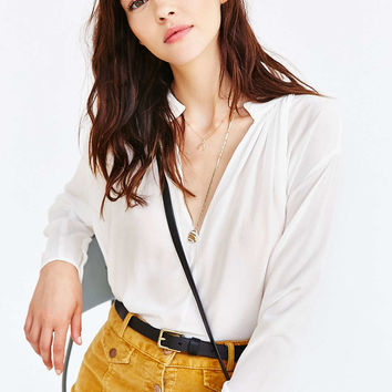 Kimchi Blue Ella Blouse - Urban Outfitters