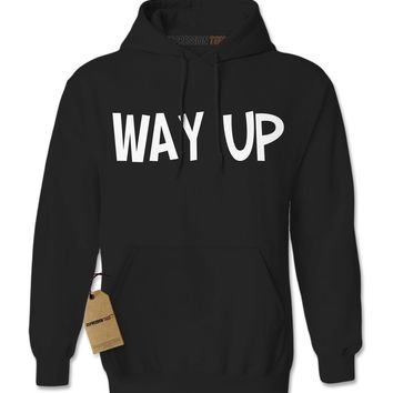 Way Up, I Feel Blessed Adult Hoodie Sweatshirt