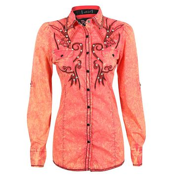 Roar Women's Fruition Long Sleeve Western Shirt