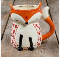 Natural Life Folk Mug - Fox