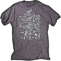 Darwin Evolution of Life Science Tee  Shirt