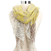 Vibrant Leopard Lightweight Scarf: Charlotte Russe
