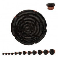 Rosewood/Iron Plug - Plugs - Jewelry Online Store